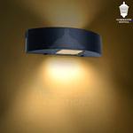 ART 2201 - Línea Sunrise Aplique curvo chico Bidireccional (exterior)