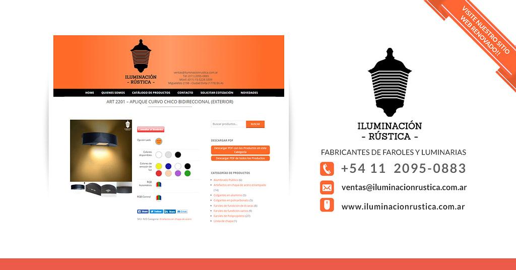Iluminación Rústica Fabricantes de Faroles y Luminarias